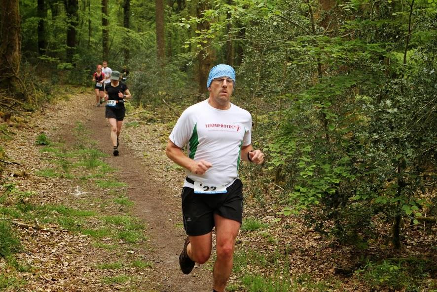 """Le traileur """"fou"""" bien concentré pense déja au 58 km ou il va en c...."""